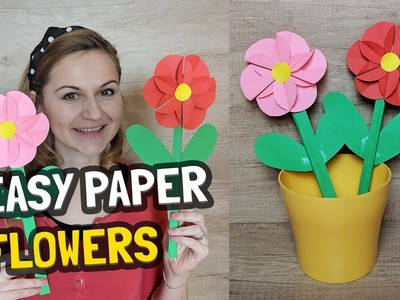 Paper Flower Craft Great for Mother's Day or International Woman's Day