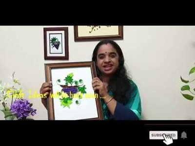 Paper Quilling Grape -Craft Ideas from Deepa Hari  (In Malayalam)