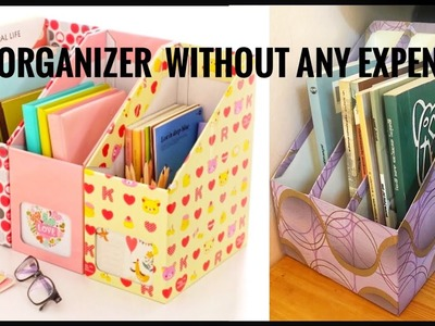 Table organizer | best out of waste
