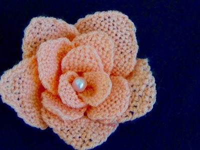 Hand Embroidery: How to Make Rose Flower with Easy Trick