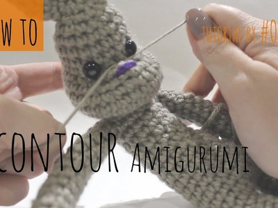 How to contour your Crochet or Amigurumi Project DIY tutuorial.