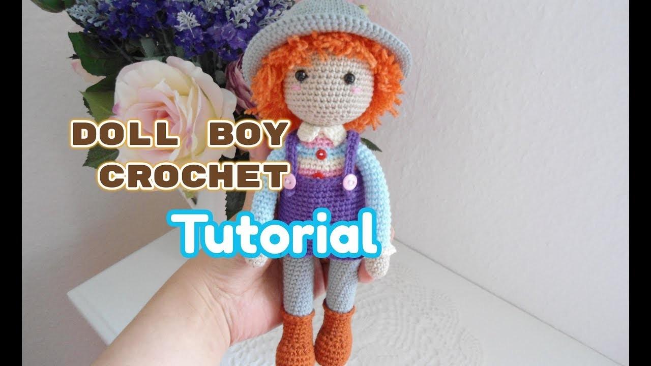 How to crochet doll boy