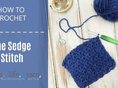 How to Crochet: The Sedge Stitch