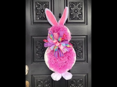 How to make Pearl Higgins Bunny Wreath
