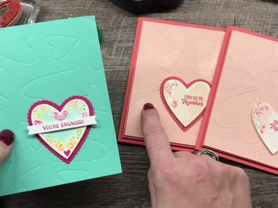 How to use Embossing Mats and Framelits to create a background