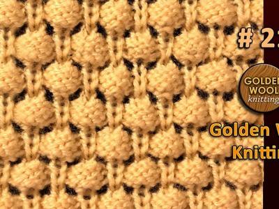 Mushroom Kids sweater 3D Knitting Design