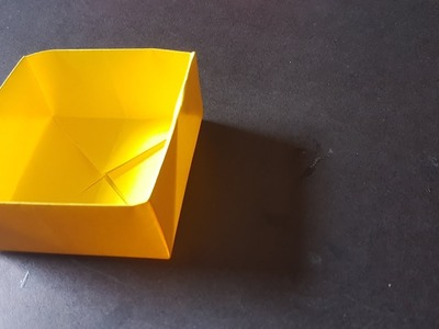 Origami Paper Box| How to make a paper box Very Easy without Glue DIY
