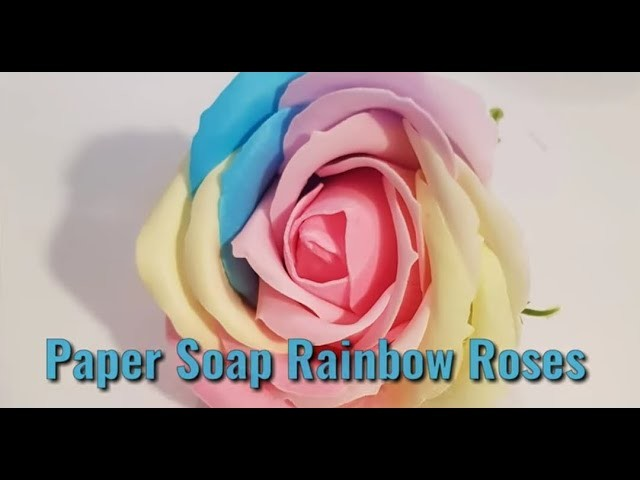 #Soapflowers - How to make Soap Roses.Bouquets (easy how-to tutorial)