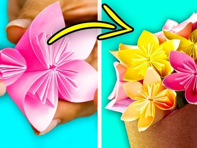 25 CUTE SPRING PAPER CRAFTS