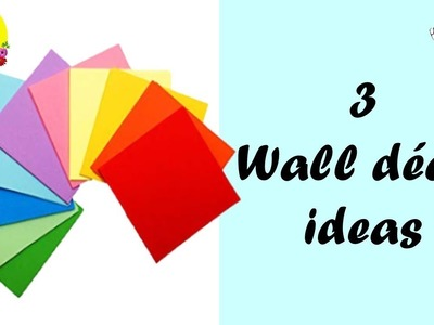 3 easy paper wall decor ideas | easy and inexpensive diys | budget decorating ideas for apartments