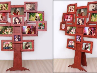Best Out Of Waste Idea || How to make Photo Frame at Home !!!