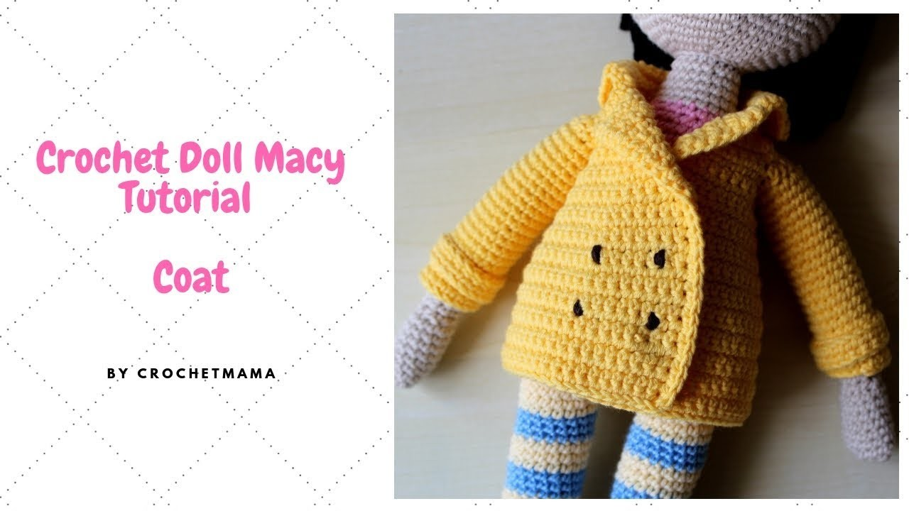 Crochet Doll Coat For My Doll Macy