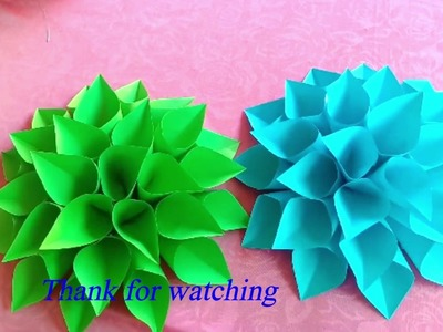 DIY Crafts. How to making paper Flower. Crafty making paper Flower.