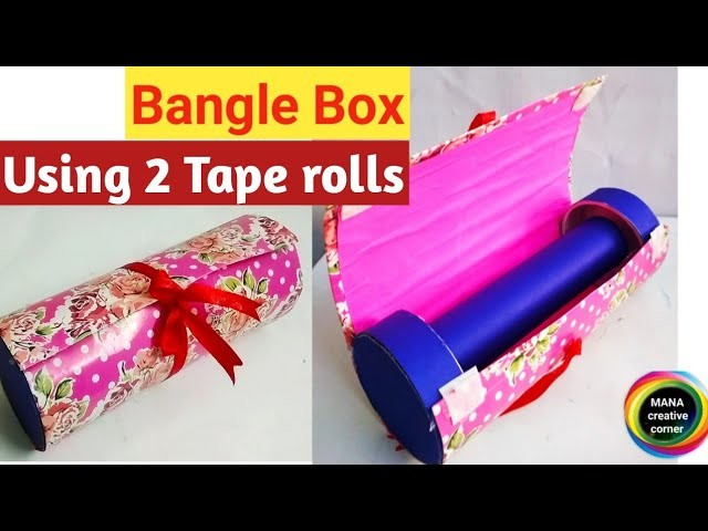 DIY organiser from waste material#How to reuse empty tape rolls#Easy storage organizer craft idea#
