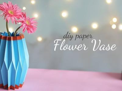 DIY Paper Flower Vase | Home Decor Ideas | Easy Vase