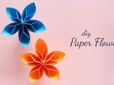 DIY Paper Flowers | Flower Making | Handmade