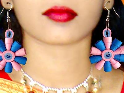 Diy paper quilling earrings | Paper Earrings for Girls | make easy Quilling Earrings | Ulta Palta |