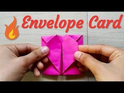 Easy Envelope Card |Origami Envelope Heart |DIY Paper Crafts