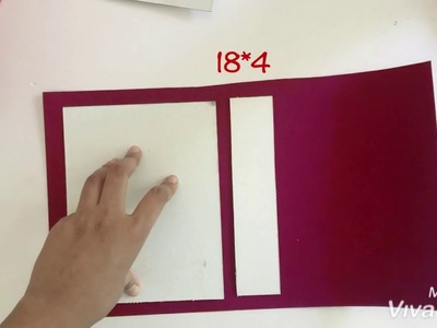 How to make a Base of a Scrapbook   Step by step Tutorial   Teacher's Day Card   by hermagical hands