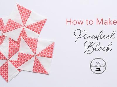How to make a Pinwheel Block