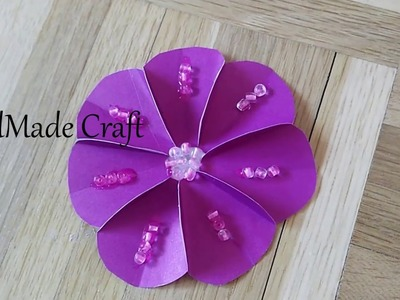 How to make paper flower.Quick and Easy (Part 1)