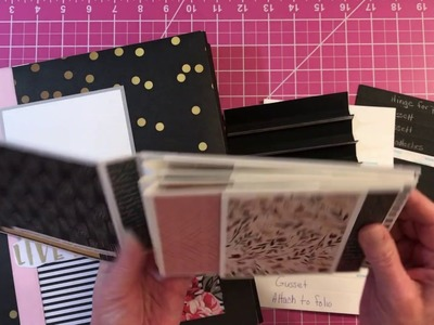 How To Make The Floating Folio Hinge Binding System