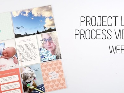 Project Life Process. Week 3. How to alter the colour of your puffy stickers