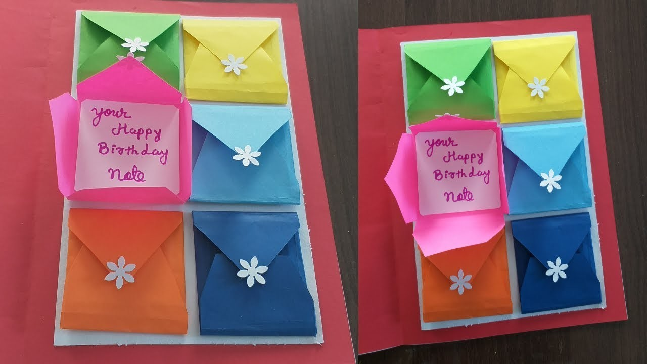 Beautiful Birthday Greeting Card Idea | DIY Birthday card | new complete tutorial