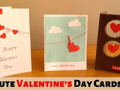 Beautiful Handmade Valentine's Day Card Ideas. DIY Cards | Dhara Patel