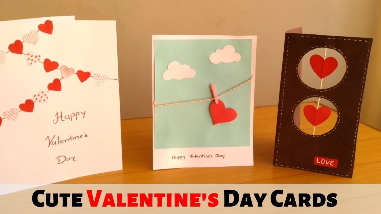 beautiful handmade valentines day card ideas diy cards