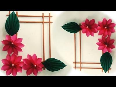 ☆ DIY ATTRACTIVE WALL DECOR DESIGN 2019| PaperFlower Decor| Handmade wall decor| diy hanging decor