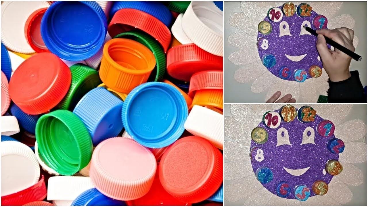 DIY Children School Project Clock   Kids Crafts   Fun Activity For Kids