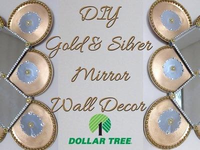 DIY DOLLAR TREE, GOLD WALL DECOR , Home Decor 2019