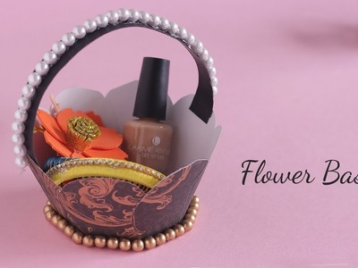 DIY Flower Basket | Gift basket ideas | Basket making