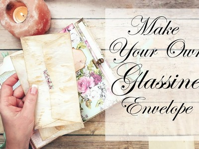 DIY Glassine Envelopes ~Wanderlust~Misty Rose~#8 by jenofeve designs