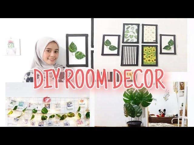 DIY ROOM DECOR 2019 (INDONESIA) || LOW BUDGET