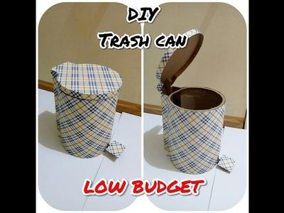 DIY TRASH CAN from cardboard. On Creation ^^