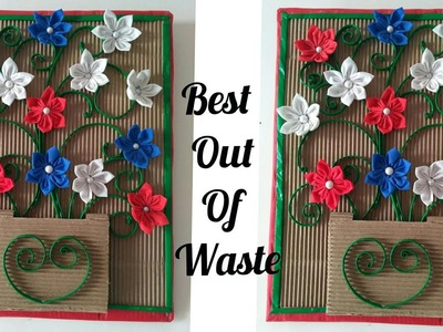 DIY Wall Hanging || Best Out of Waste || Wall Decor ||