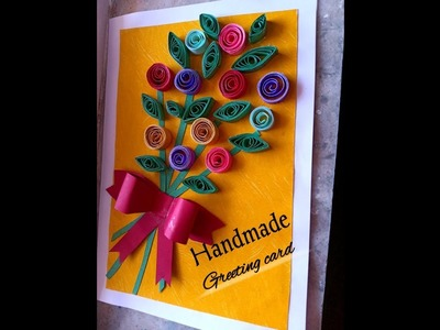 Handmade Greeting Card | Paper Quilling Card