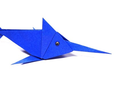Origami Swordfish Easy (Anh Dao) - Paper Crafts 1101