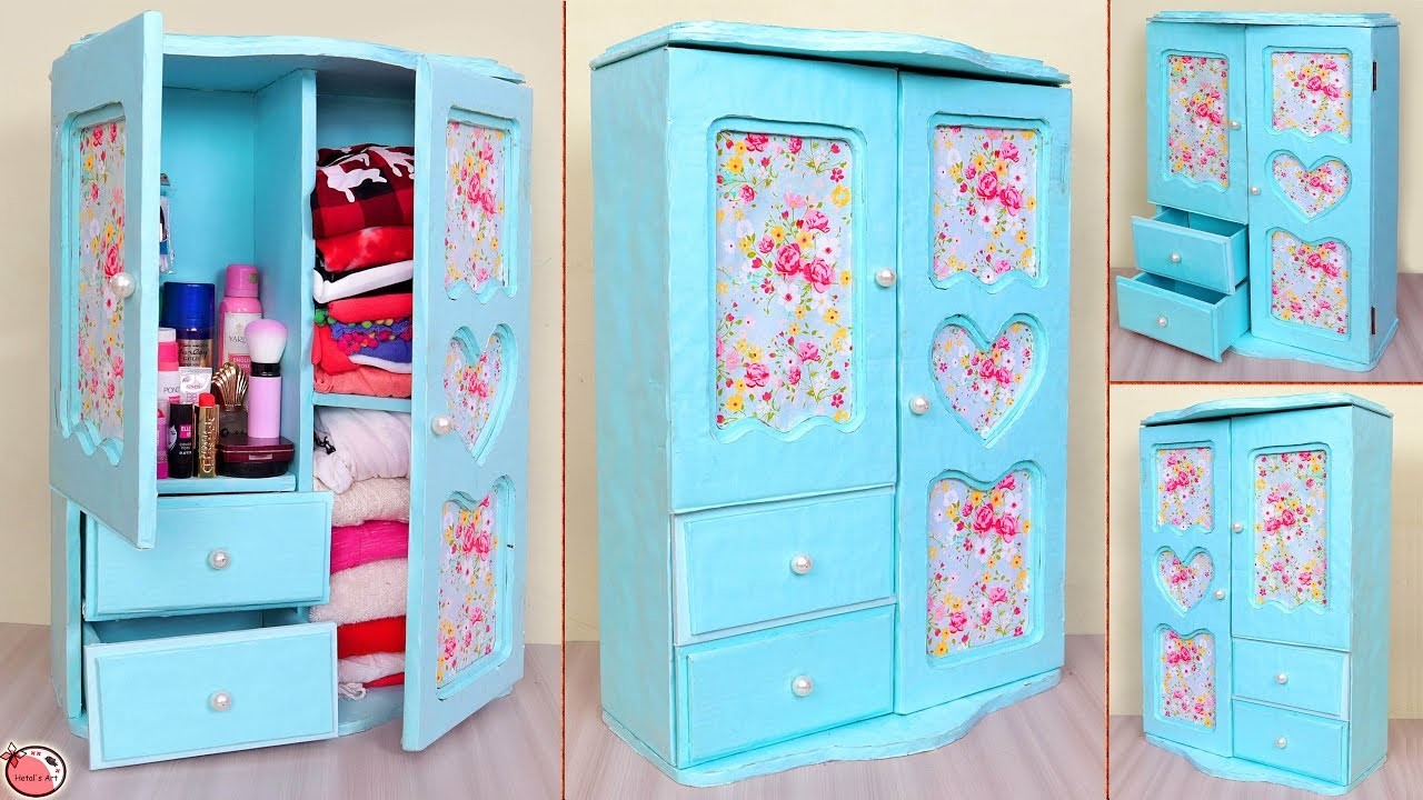 WOW !! DIY Room Organizer || Mini Cabinet Making at Home || DIY Projects !!!