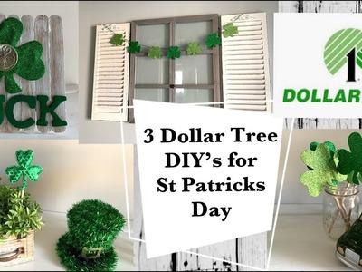 3 Dollar Tree DIY's for St. Patricks Day