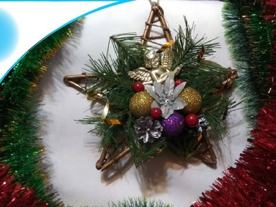 Christmas star - christmas tree decoration!