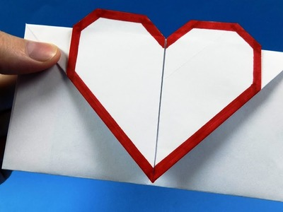 NO GLUE Paper Crafts] How to Make Envelope Origami - DIY - Easy ... | 300x400