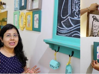 Easy Ways To Hang  Photo Frames, Wall Arts and Crafts - No Nails (Rental Friendly) | Maitreyee