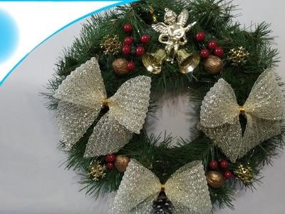 Handmade Christmas wreath!