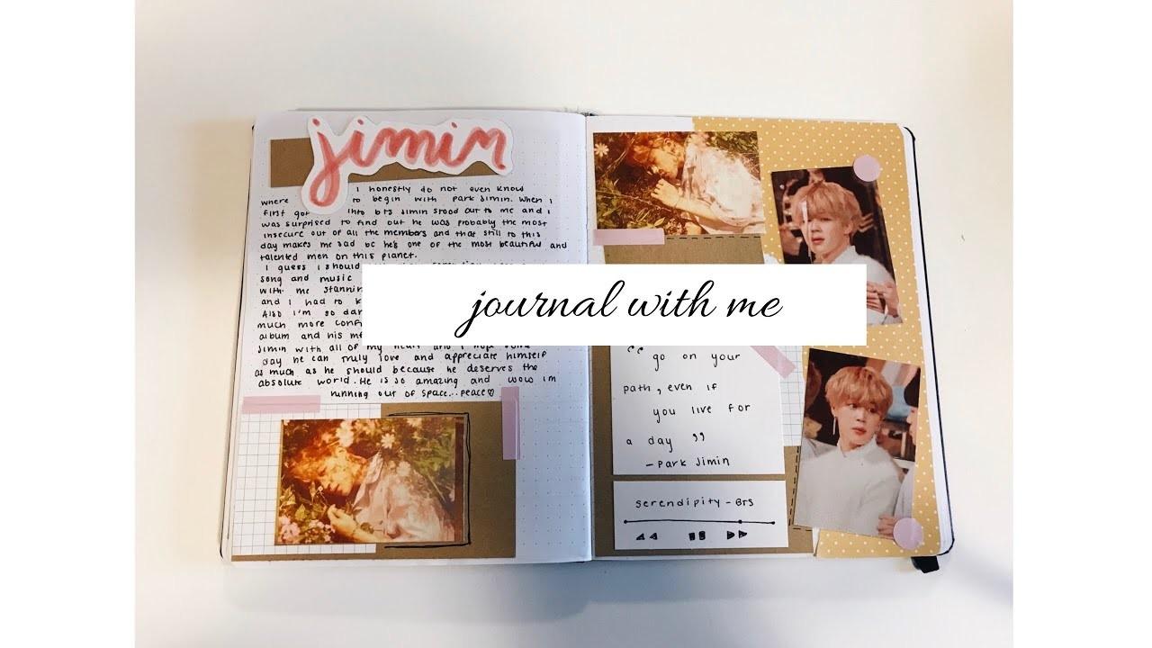 [kpop journal with me] park jimin