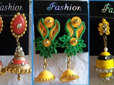 #QUILLING PAPER QUILLED EARRINGS COLLECTION 2019|EARINGS COLLECTION
