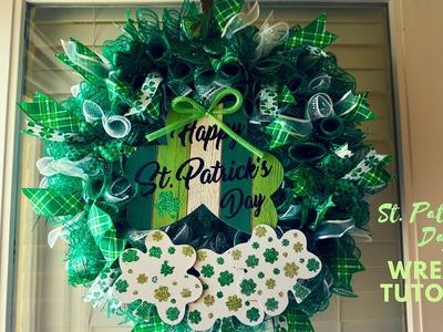 St. Patrick's Day wreath tutorial January 31, 2019