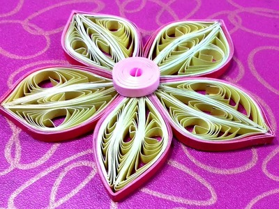 DIY Paper Quilling Flowers | quilling decoration ideas | easy flower making | Part-11 |